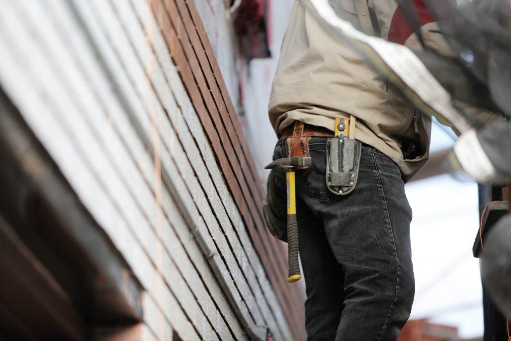 ouvrier marteau ceinture
