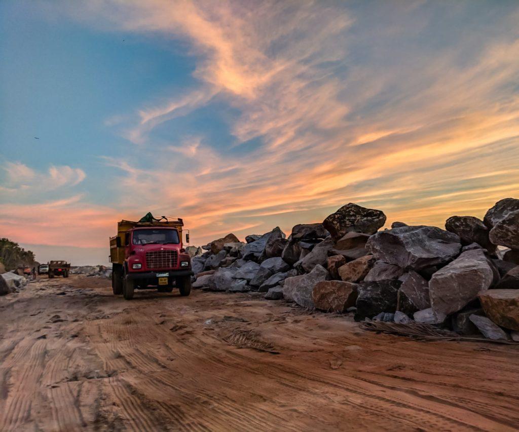 camion ben rochers