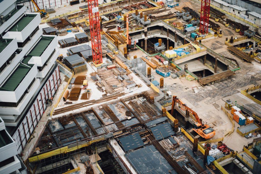 chantier immeuble