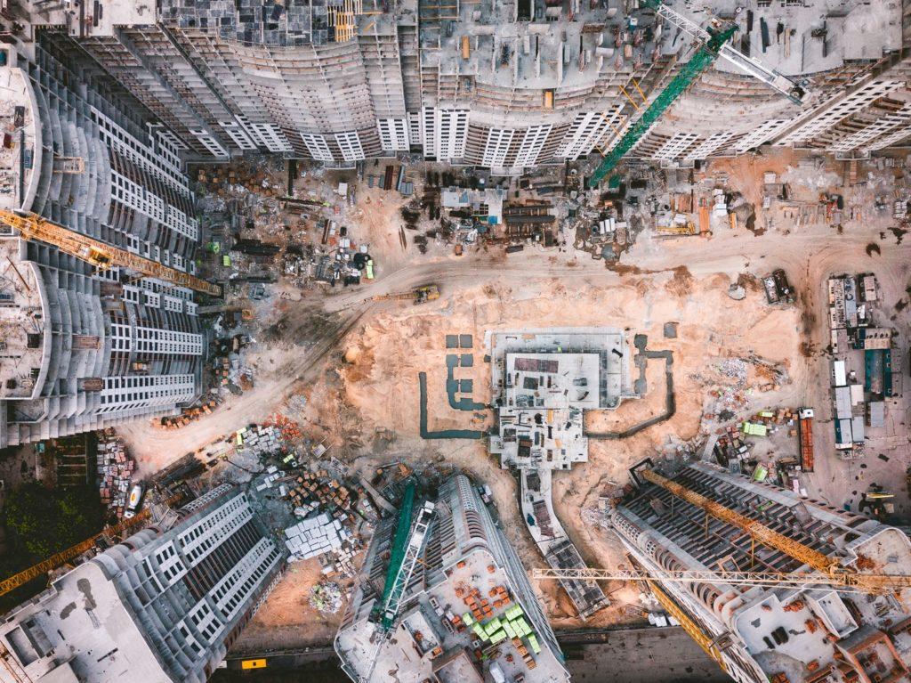 chantier de construction ghetto